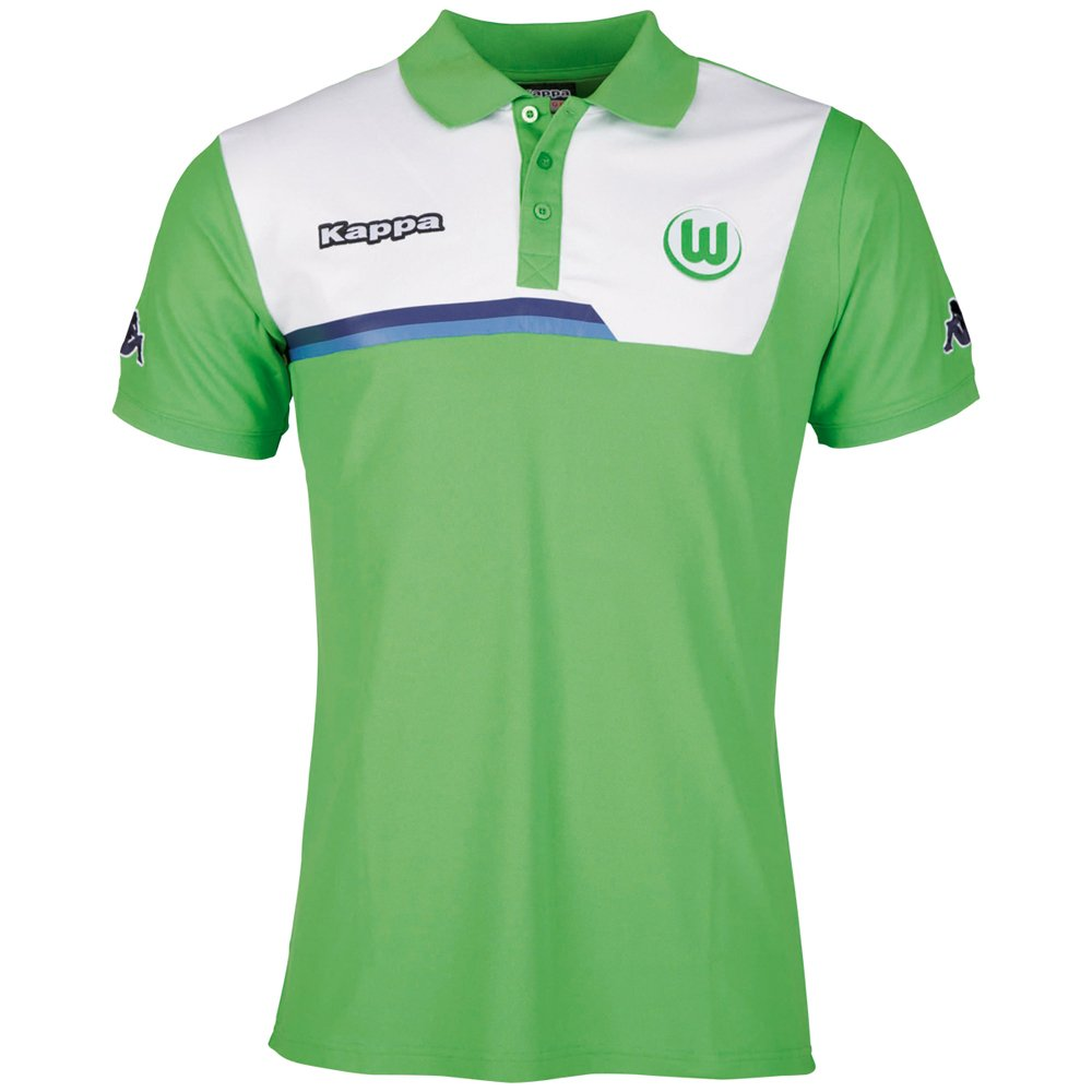 Kappa VfL Borussia Mönchengladbach Logo Polo Shirt, Men, Poloshirt VFL  Sparetime Polo: Amazon.co.uk: Sports & Outdoors