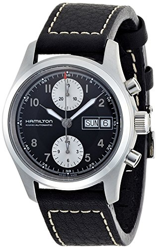 HAMILTON watch Khaki Field Auto Chrono 38mm H71466733 Men's [regular imported goods]
