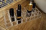 PuTwo Lipstick Holder Makeup 24 Section Organizer
