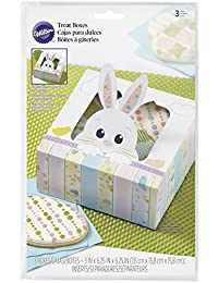 Gain 415-7929 Wilton On the Fence Bunny Treat Boxes, 3-Count deal