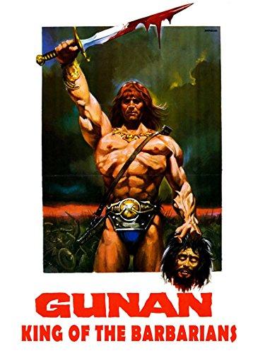Gunan King Of The Barbarians (Red Guardian Fantasy Sword)