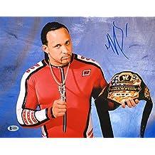 shawn porter Signed Photograph - Montel Vontavious 11x14 BAS Beckett COA WWE MVP - Beckett Authentication
