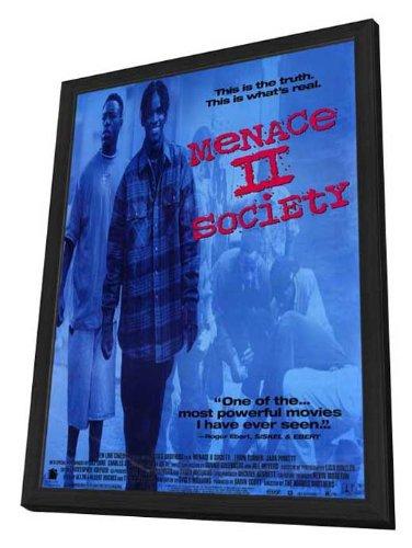 Menace II Society - 11 x 17 Framed Movie Poster