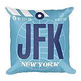 JFK - Airport Code Pillow