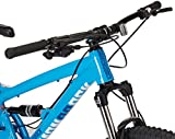 "Diamondback Bicycles Atroz Full Suspension Mountain Bike, Gloss Cyan, 20""/Large"
