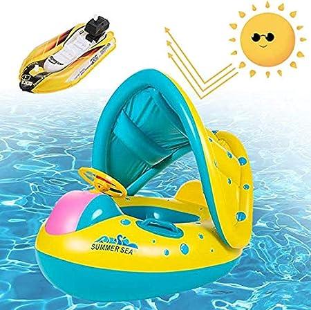 Ucradle Flotadora para Bebés, Anillo de Natación para Niños ...