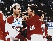 Guy Lafleur & Vladislav Tretiak Autographed 8x10 - USSR - Mont