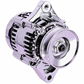 Amazon.com: LActrical HIGH OUTPUT AMP DENSO STYLE CHEVY CHROME ...