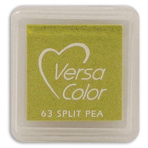 (Tsukineko Small-Size VersaColor Ultimate Pigment Inkpad, Split Pea )