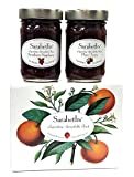 Sarabeth's Fall Two Jar Gift Box Set - Two 9 oz. jars - Plum Cherry and Strawberry Raspberry