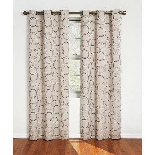 Cheap Eclipse Zodiac Blackout Grommet Window Panel Linen (42in. X 95in.)
