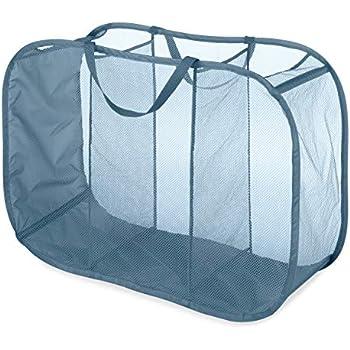 Amazon Com Whitmor Pop Amp Fold Laundry Sorter Berry Blue