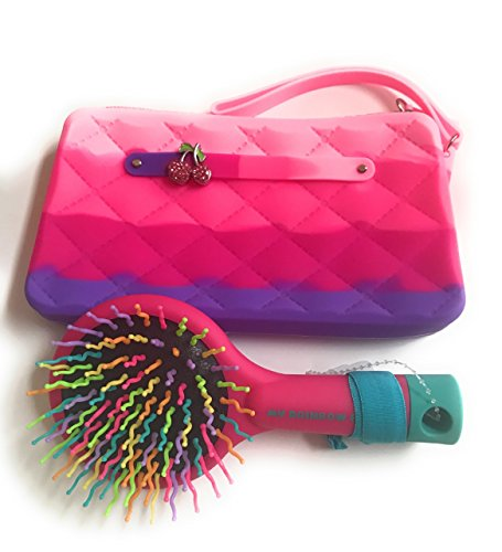 Price comparison product image American Jewel Wristlet w/Free Jewel (Cherries) and Rainbow Brush w/Free Hair Tie, Unscented
