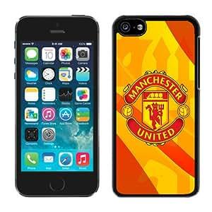 Newest iPhone 5C Case ,Manchester United 3 Black iPhone 5C Screen Case Unique And Durable Custom Designed Cover Case