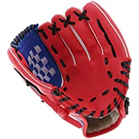 Acidea Honkbalhandschoen sportbatting handschoenen met honkbal PU-leer verstelbaar en comfortabel voor kinderen jeugd…