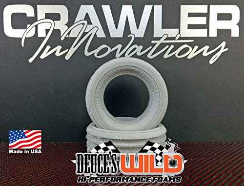 Crawler Innovations Deuce's Wild Single Stage for 1.9 Tires 4.19-3.85 Tall Foam Pair - Tire Foam Inserts Firm