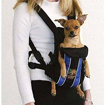 Amazon.com : Dog Supplies Outward Hound Legs Out Front Carrier ...