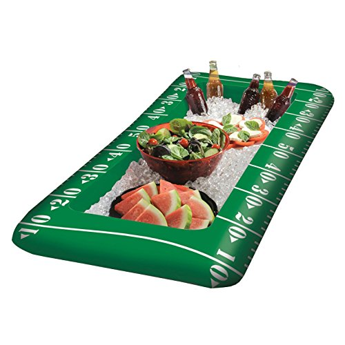 Inflatable Football Buffet Cooler ()