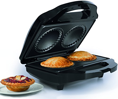 Discover Bargain Holstein Housewares HF-09016B Fun Mini Pie Maker – Black
