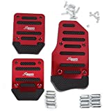 Waterwood 1 Set of Non-Slip Racing Manual Car MT Truck Pedals Pad Cover by Waterwood