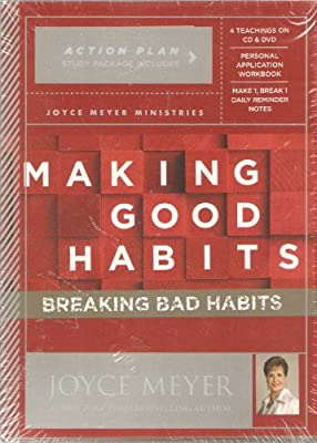 Making Good Habits, Breaking Bad Habits - Action Plan Study Package