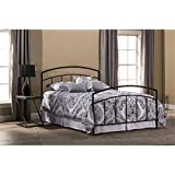 Hawthorne Collections Queen Spindle Bed in Textured Black