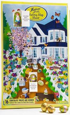 Bunny Hop Chocolate Easter Calendar & Game