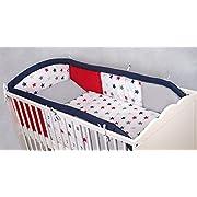 Amilian/® Betttasche Spielzeugtasche Design10 Babybetttasche Windelntasche Spielzeughalter f/ür Kinderbett NEU