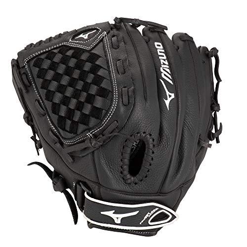 (Mizuno Prospect Fastpitch Softball GPL1200F2 Utility 312589 Gloves, Size 12, Black)
