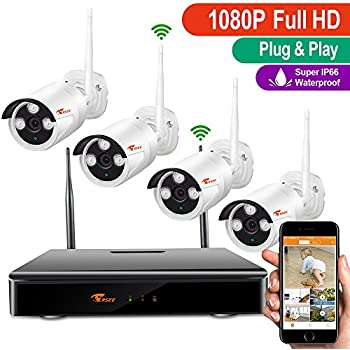 Amazon Com Corsee 4 Channel 1080p Full Hd Wireless