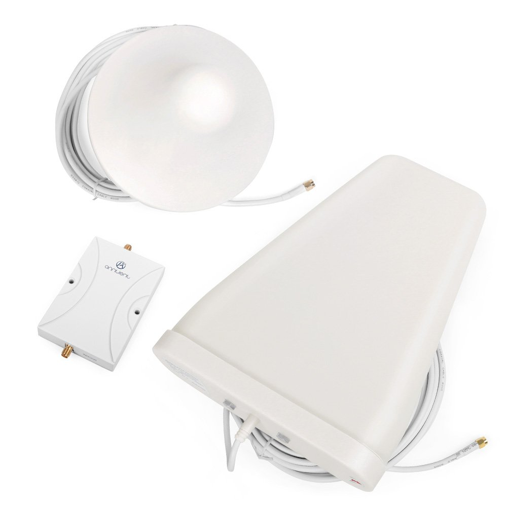 ANNTLENT Amplificador Cobertura m ó vil gsm 4G 900  1800MHz 65dB con 2  Antena para Casa  Oficina de ... 6cb71b682a12