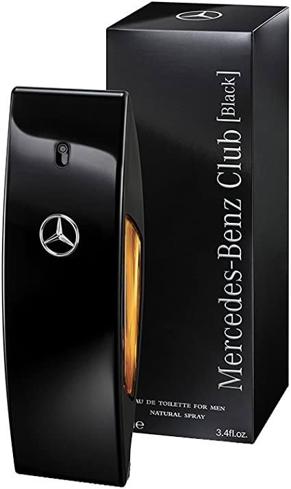 Mercedes Benz Club Black For Men Eau De Toilette Spray 3 4 Ounce 3595471041197 Amazon Ca Beauty
