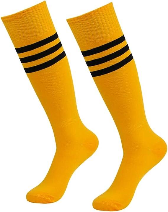 Getspor Soccer Socks, Unisex Team Sports Football Long Tube Knee High Socks