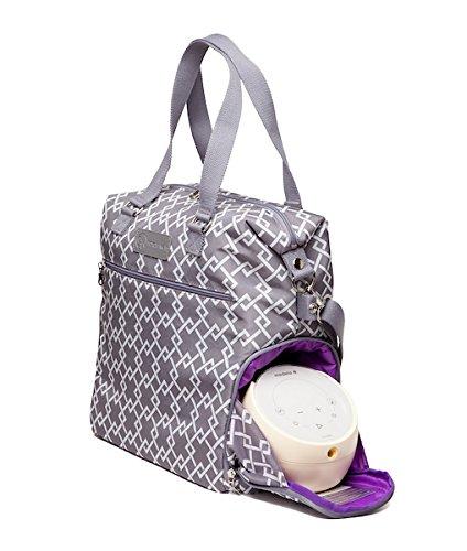 Sarah Wells Lizzy Breast Pump Bag (Gray) by Sarah Wells (Image #4)