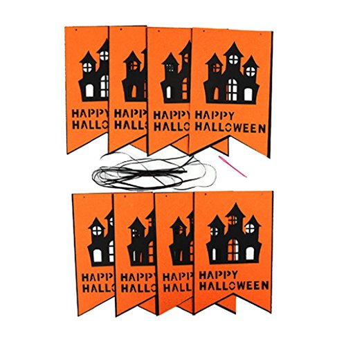 70s Halloween Costumes Diy (Euone 1 Set Halloween Hanging Holiday Party Decoration Ornaments DIY Pull The Flag (A))