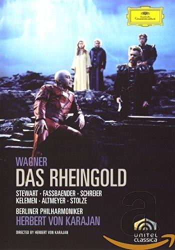 DVD : Herbert von Karajan - Das Rheingold (DVD)