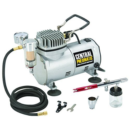 1/5 HP 58 PSI Oilless Airbrush Compressor Kit from TNM