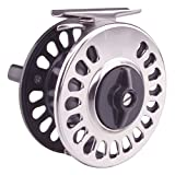 TICA USA S-Series Large Arbor Fly Reel, Black, 12-Test/45-Yard