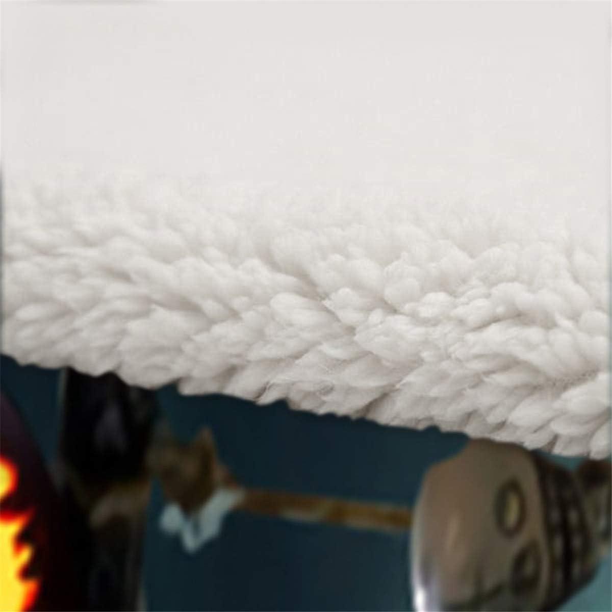 Velours blanc en laine B Side Impression num/érique Literie /à motifs Jack et Skull Cartoon 130 /× 150 cm Cauchemar avant le cr/âne de No/ël Couverture 100/% microfibre Velours cristal un c/ôt/é