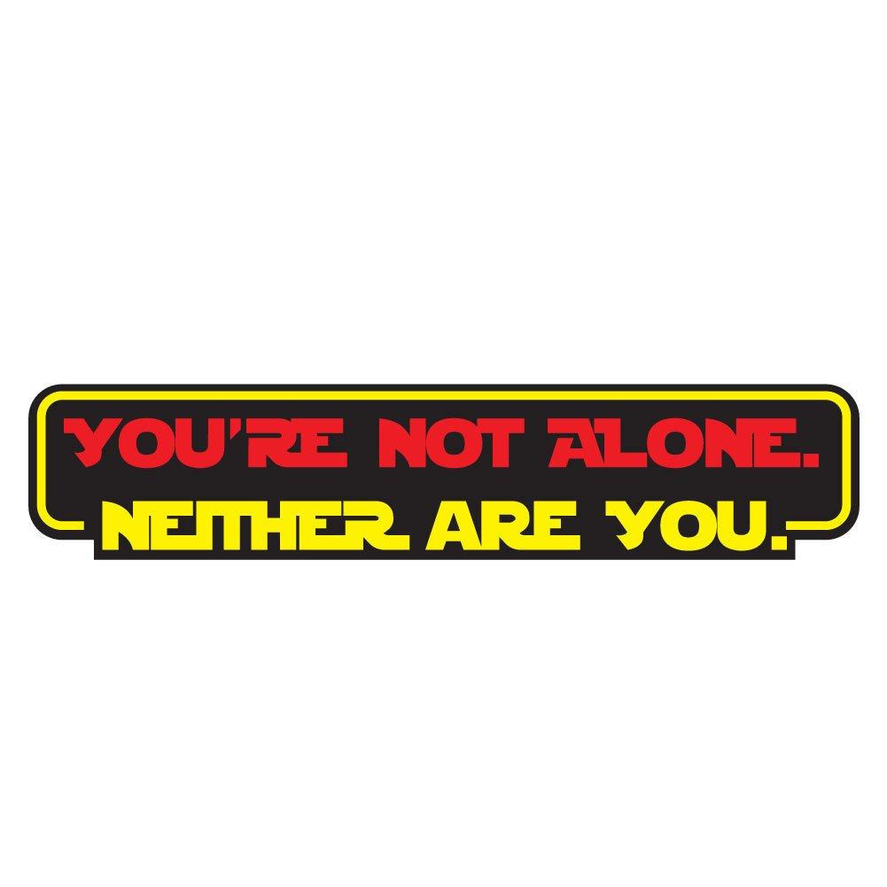 現品限り一斉値下げ! 、あなただけではありません reylo。Neither Inch Are You。Movie Quote B078XR2NS8 reylo – ビニールデカール屋内または屋外の使用、車、ノートパソコン、飾り、Windows、and More 6 Inch レッド youre-not-alone-decal6 6 Inch B078XR2NS8, チョウフシ:a5da68e5 --- svecha37.ru