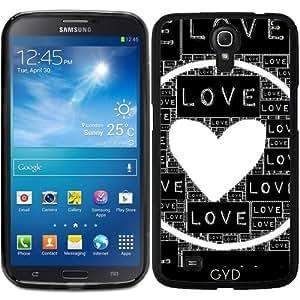 Funda para Samsung Galaxy Mega 6.3 GT-I9205 - Amor Negro by Feryal
