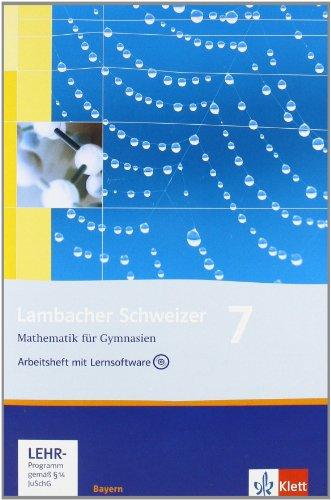 Lambacher Schweizer - Ausgabe für Bayern / Arbeitsheft mit Lernsoftware 7. Schuljahr