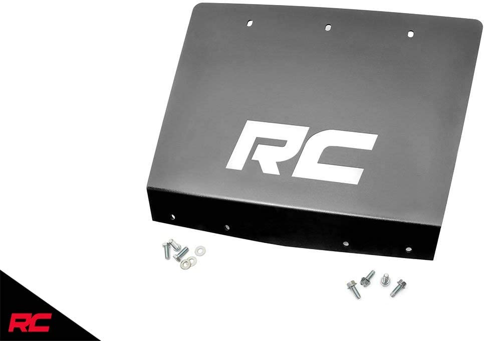 Rough Country Front Skid Plate Armor Compatible w// 2001-2010 Chevy Silverado GMC Sierra HD w//RC 6 Lift 1297-1
