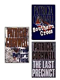 Patricia Cornwell 3 Book Set: Southern Cross, the Last Precinct, From Potter's Field