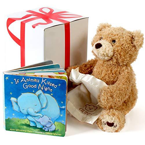 - GUND Peek-A-Boo Teddy Bear Animated Stuffed Animal Plush, 11.5