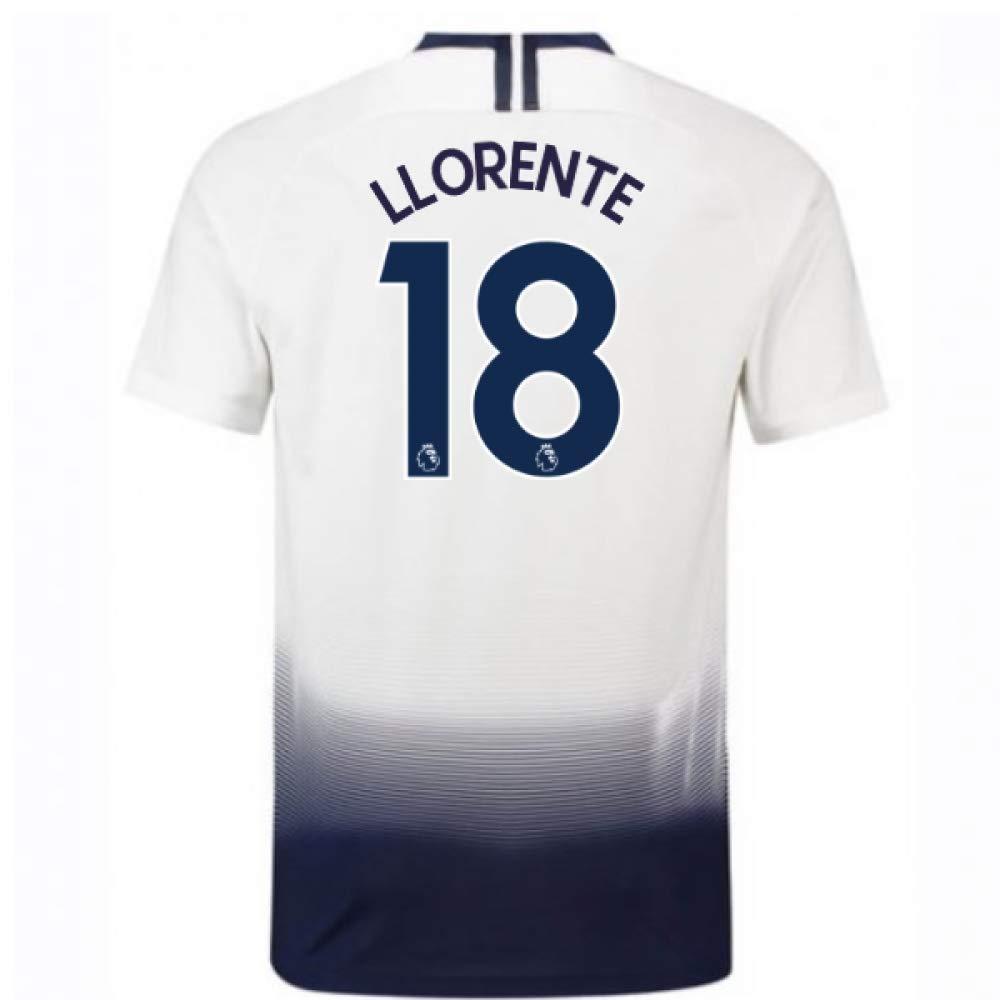 2018-2019 Tottenham Home Nike Football Soccer T-Shirt Trikot (Fernando Llorente 18)