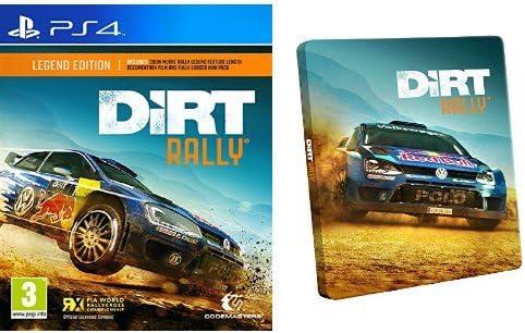 Dirt Rally - Legend Edition + Steelbook: Amazon.es: Videojuegos