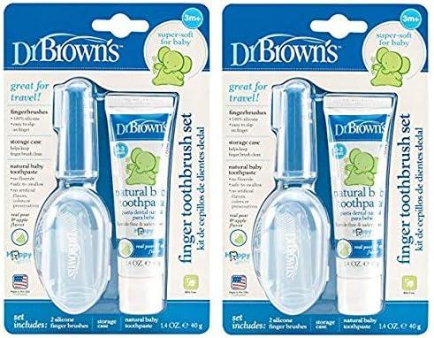 Dr. Browns Finger Toothbrush Set ((2.Units))