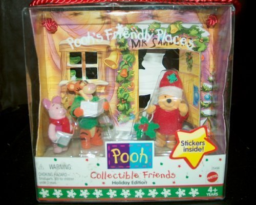 Disney's Pooh's Collectible Friendly Places Holiday Edition
