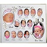My First Year Baby Picture Frame
